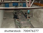 cu chi tunnel  ho chi minh ...   Shutterstock . vector #700476277