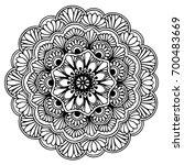 mandalas for coloring book....   Shutterstock .eps vector #700483669