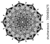 mandalas for coloring book.... | Shutterstock .eps vector #700483675