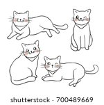 vector illustration character... | Shutterstock .eps vector #700489669