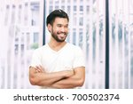 asian handsome man with a...   Shutterstock . vector #700502374