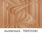 wooden design background with... | Shutterstock . vector #700515181