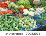 thai vegetables for thai food | Shutterstock . vector #70052038