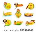 creative sticker or label for... | Shutterstock .eps vector #700524241