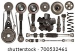 old auto spare parts car on the ...   Shutterstock . vector #700532461