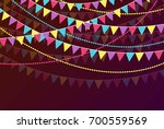 celebration background with... | Shutterstock .eps vector #700559569