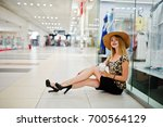 portrait of a beautiful woman... | Shutterstock . vector #700564129