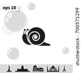 snail icon.