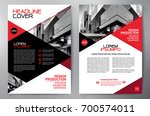 business brochure. flyer design.... | Shutterstock .eps vector #700574011