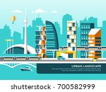 modern vector illustration of... | Shutterstock .eps vector #700582999