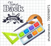 Time Back To School Poster Wit...