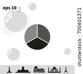 circle diagram. business chart... | Shutterstock .eps vector #700601371
