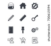repair  construction icons.... | Shutterstock .eps vector #700615594
