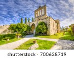 bellapais abbey  is the ruin of ... | Shutterstock . vector #700628719