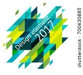 minimalistic design  creative... | Shutterstock .eps vector #700630885