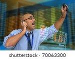 Businessman Or Stock Broker...