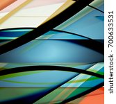 abstract background created... | Shutterstock .eps vector #700633531