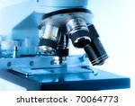 close up of microscope lenses... | Shutterstock . vector #70064773