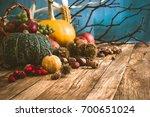 Autumn Fruit Background. Autumn ...