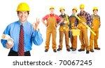 industrial contractors workers...   Shutterstock . vector #70067245