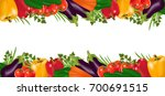 background with organic fresh... | Shutterstock .eps vector #700691515