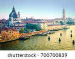 venice  italy.  canal and city...   Shutterstock . vector #700700839