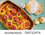 stuffed peppers. perfect... | Shutterstock . vector #700712974