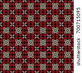 vector seamless ethnic pattern. ... | Shutterstock .eps vector #700715095