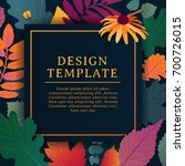 template design square banner... | Shutterstock .eps vector #700726015