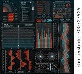 interface hud design set. ui...