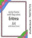frame and border of ribbon with ...   Shutterstock .eps vector #700731721