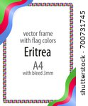 frame and border of ribbon with ...   Shutterstock .eps vector #700731745
