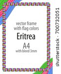 frame and border of ribbon with ...   Shutterstock .eps vector #700732051