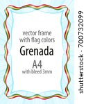 frame and border of ribbon with ...   Shutterstock .eps vector #700732099