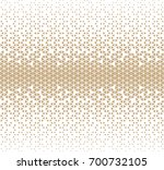 abstract geometric hipster... | Shutterstock .eps vector #700732105