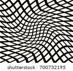 abstract seamless geometric... | Shutterstock .eps vector #700732195