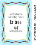 frame and border of ribbon with ...   Shutterstock .eps vector #700733305