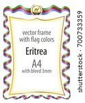 frame and border of ribbon with ...   Shutterstock .eps vector #700733359