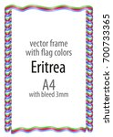 frame and border of ribbon with ...   Shutterstock .eps vector #700733365