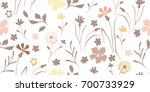 seamless vector texture with... | Shutterstock .eps vector #700733929
