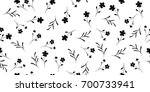 seamless vector texture with... | Shutterstock .eps vector #700733941