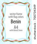 frame and border of ribbon with ...   Shutterstock .eps vector #700734349