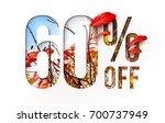 60  off discount promotion sale ...   Shutterstock . vector #700737949