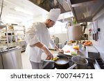 cooking food  profession and... | Shutterstock . vector #700744711