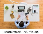 business  accounting  people... | Shutterstock . vector #700745305