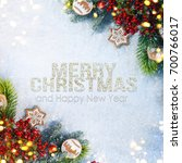 holiday background  greeting...   Shutterstock . vector #700766017
