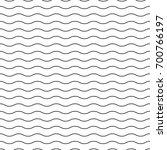 wavy seamless striped pattern.... | Shutterstock .eps vector #700766197
