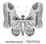 butterfly | Shutterstock .eps vector #70079521