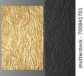 3d wall art  picture of gold... | Shutterstock . vector #700841701