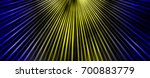 blue and yellow beams abstract... | Shutterstock . vector #700883779